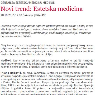 mnovine - estetska medicina