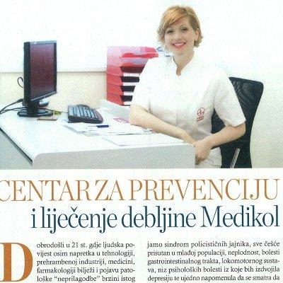 Story - Centar za prevenciju i lijecenje debljine - naslovna