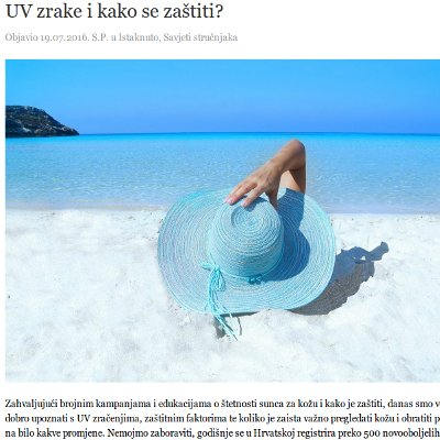 UV-zrake-naslovna